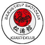 Logo for Brædstrup shotokan karateklub