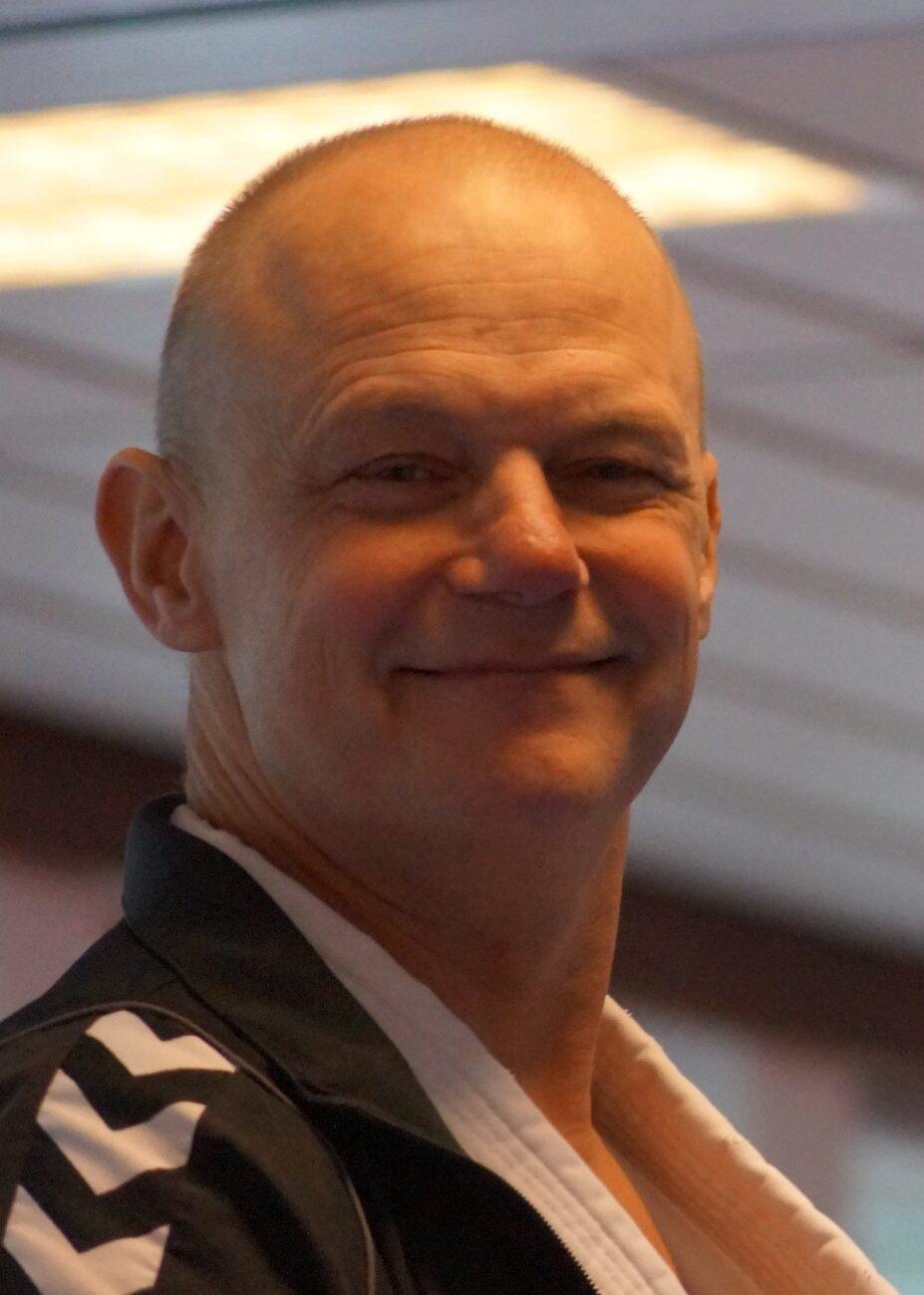 billede af en træner i klubben